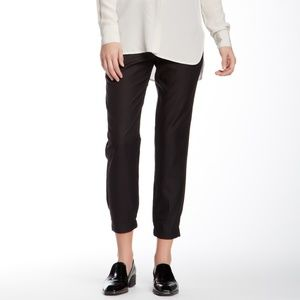 VINCE | Black Work Pants Joggers Ankle Crop Size 8